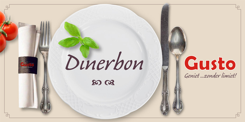 Gusto-dinerbon