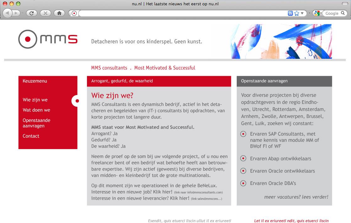 MMS-webdesign